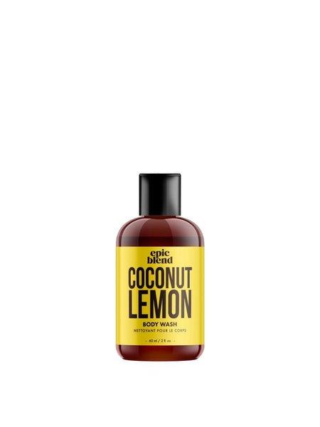 Epic Blend Body Wash Coconut Lemon 2oz