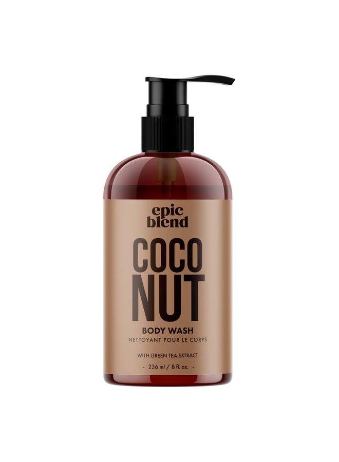 Body Wash Coconut 8oz
