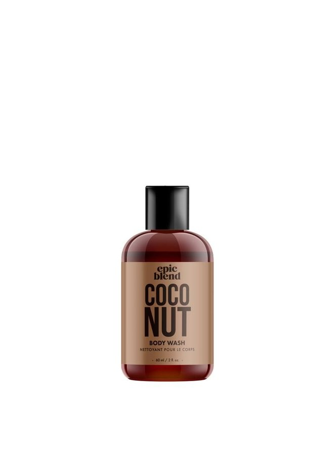 Body Wash Coconut 2oz