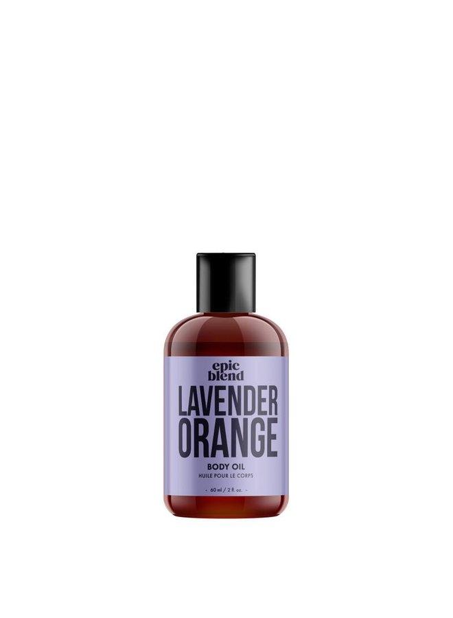 Body Oil Lavender 2oz