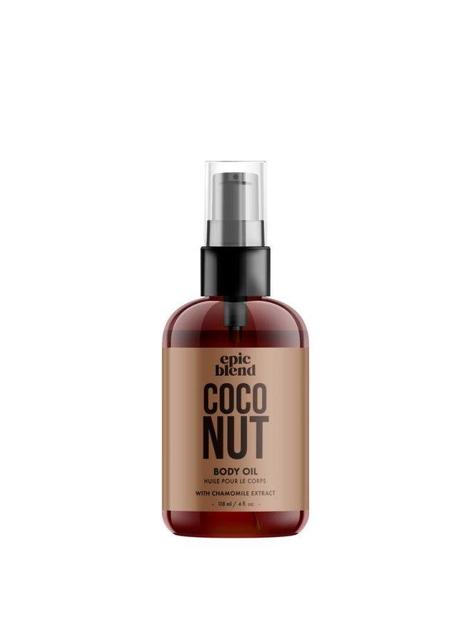 Body Oil Coconut 4oz