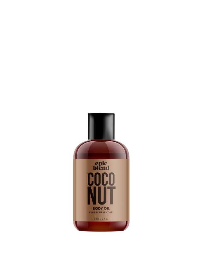 Body Oil Coconut 2oz