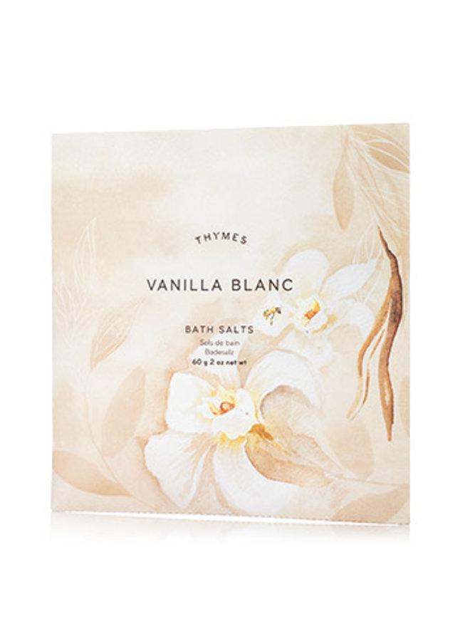 Vanilla Blanc Bath Salts