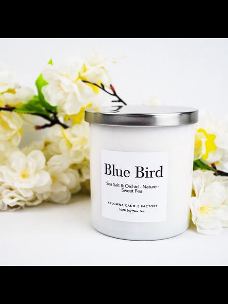Kelowna Candle Blue Bird Soy Candle 8oz