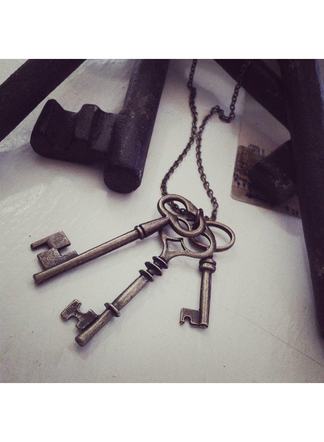 Vintage Skeleton Keys-N14Keys