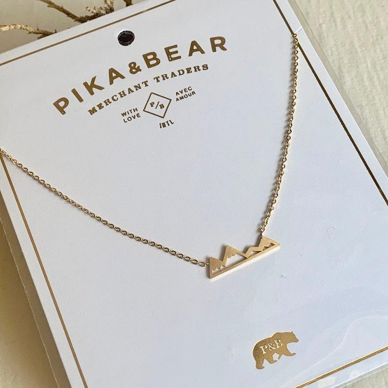 Pika & Bear Bankhead Mountain Necklace