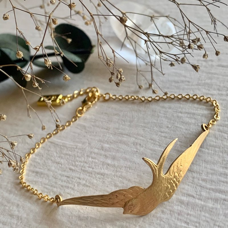Pika & Bear Swallow Chain Bracelet