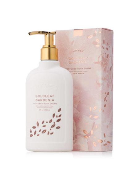 Thymes Goldleaf Gardenia Perfumed Body Creme