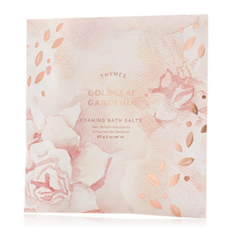 Thymes Goldleaf Gardenia Bath Salts