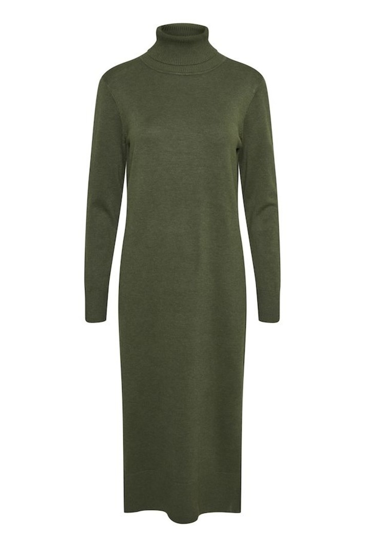 St Tropez MilaSZ Roll Neck Long Dress 30511420