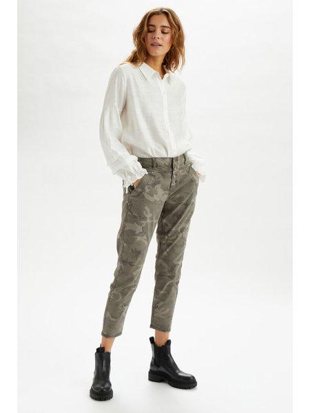 Cream PenoraCR Twill 7/8 Pants 10606309