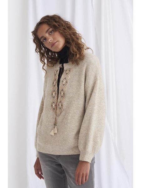 Cream CRLara Knit Pullover 10607265