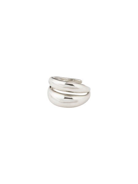 Pilgrim Ring Reconnect Silver Plated - 102136004