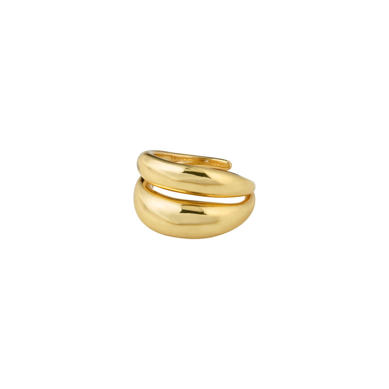 Pilgrim Ring Reconnect Gold Plated - 102132004