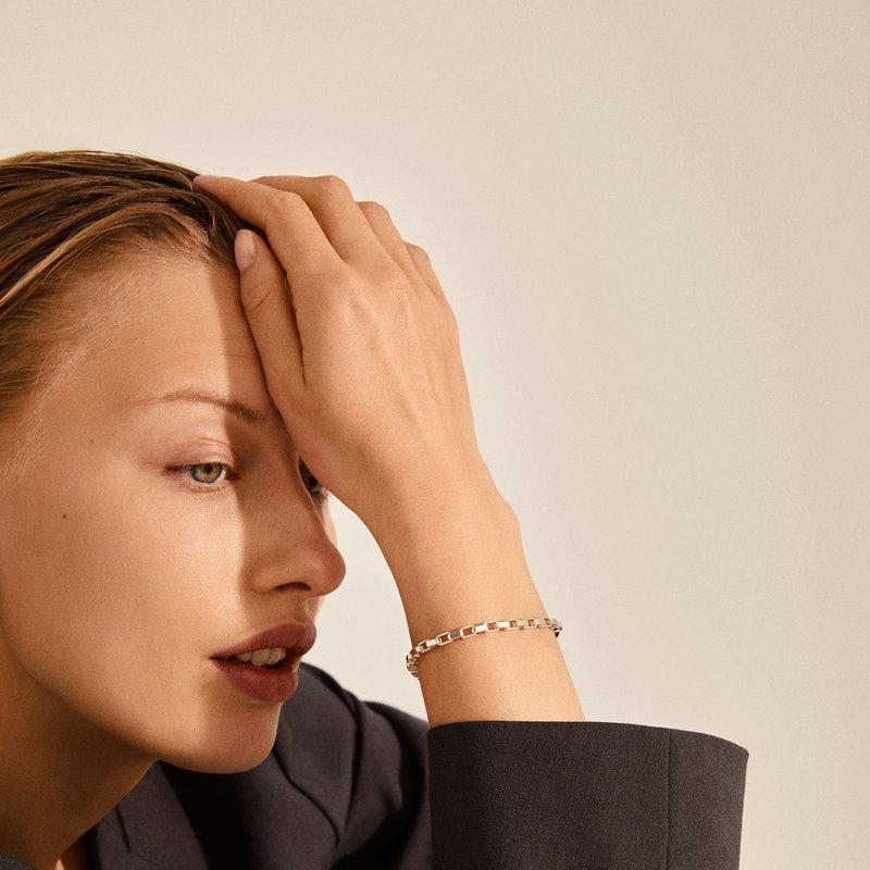 Pilgrim Bracelet Clarity Silver Plated - 112136002