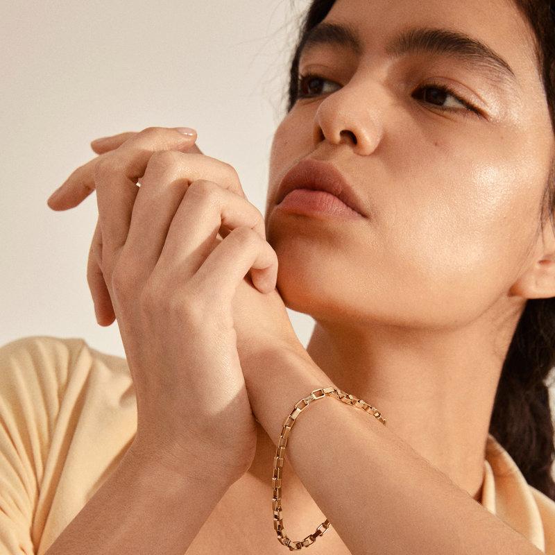 Pilgrim Bracelet Clarity Gold Plated - 112132002