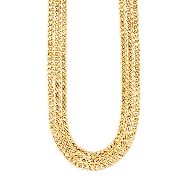 Pilgrim Necklace Authenticity Gold Plated - 122132011