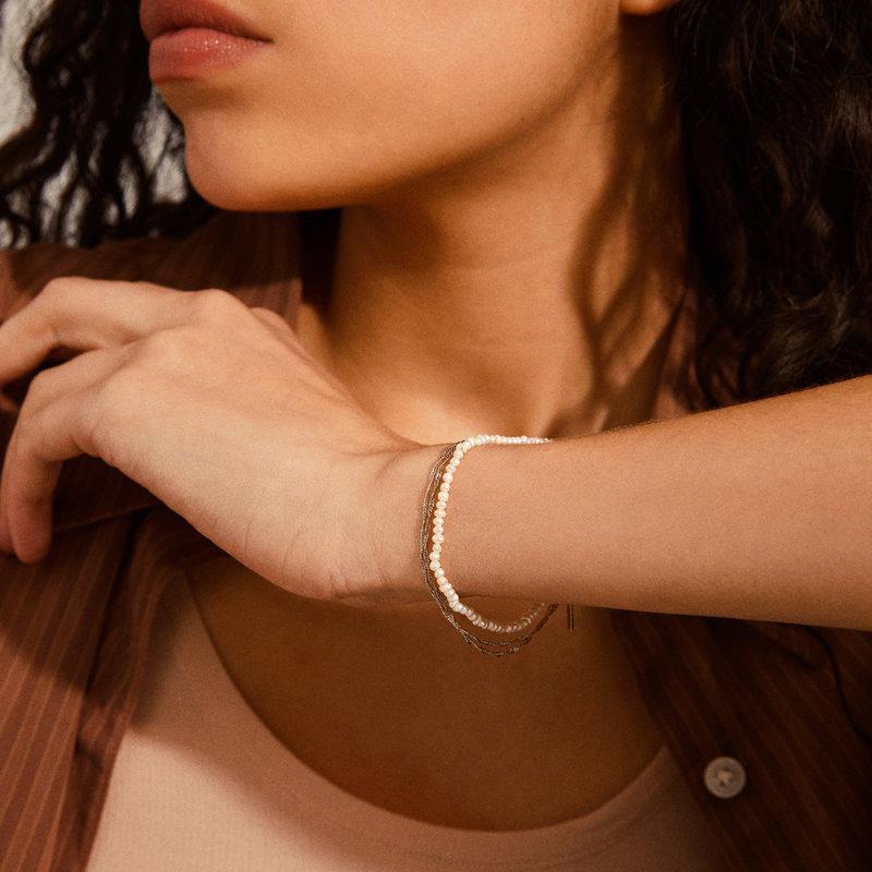Pilgrim Bracelet Native Beauty Silver Plated - 132136002
