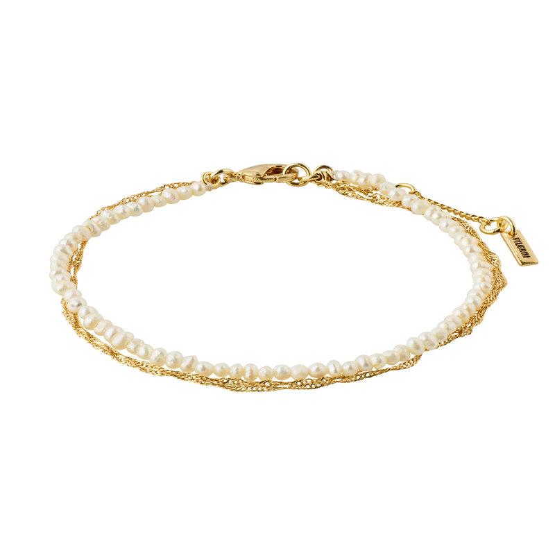 Pilgrim Bracelet Native Beauty Gold Plated - 132132002