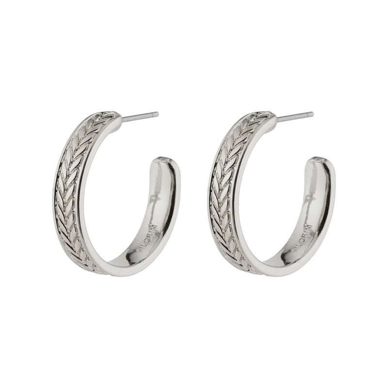 Pilgrim Earrings Legacy Silver Plated - 142136023