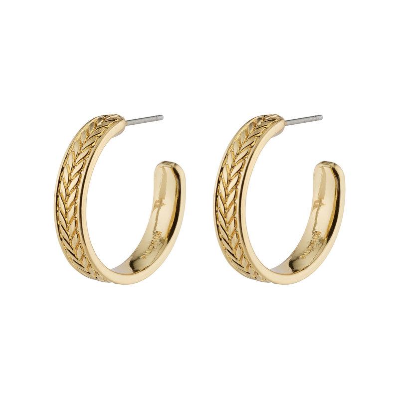 Pilgrim Earrings Legacy Gold Plated - 142132023