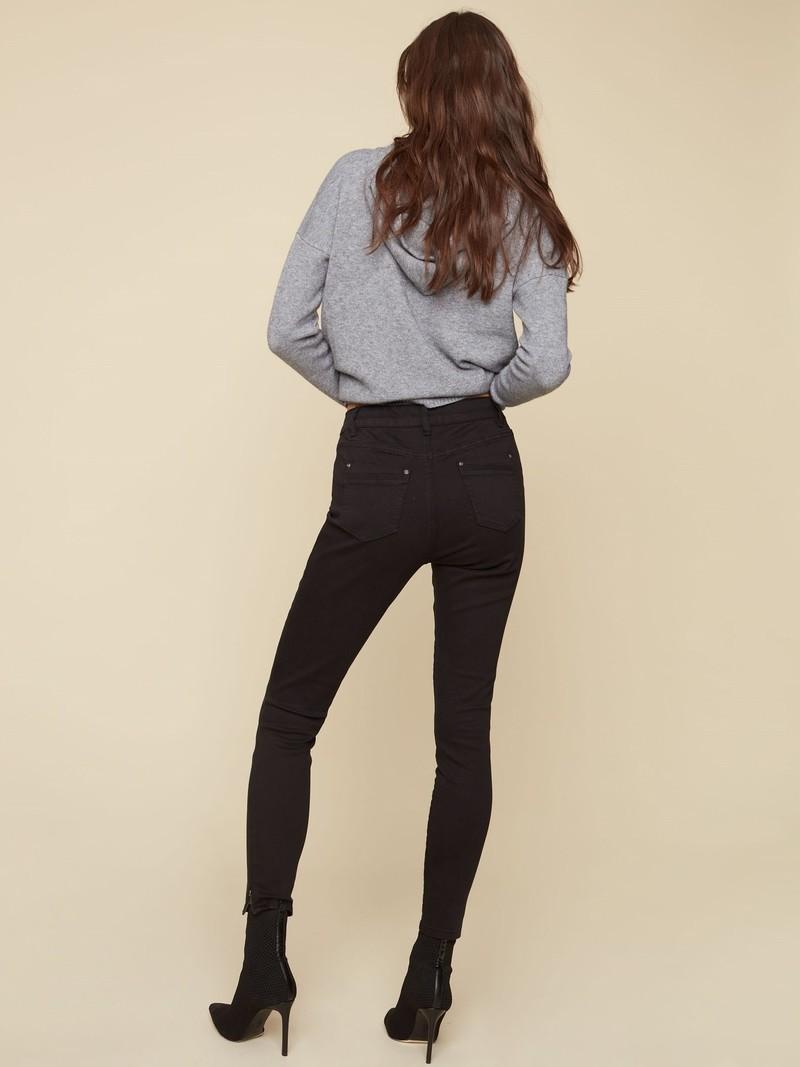 Charlie B Ankle Pant w/Zipped Leg C5233