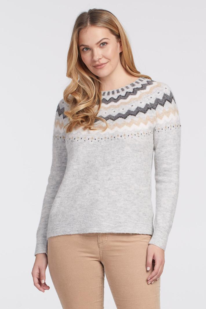Tribal L/S Intarsia Sweater 4730O