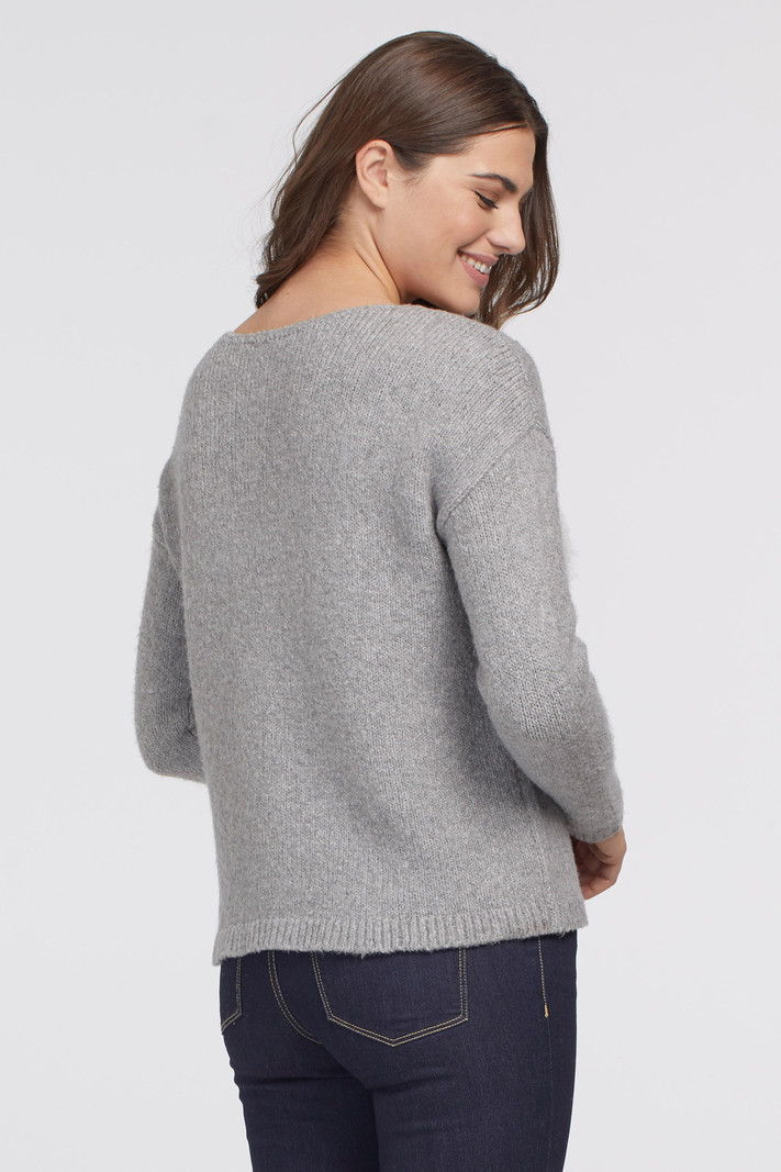 Tribal L/S Intarsia Sweater 7220O