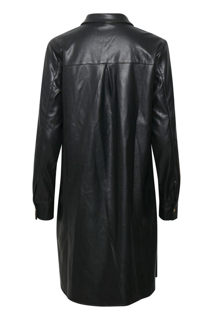Culture CUmelissa PU Shirt Dress 50108025
