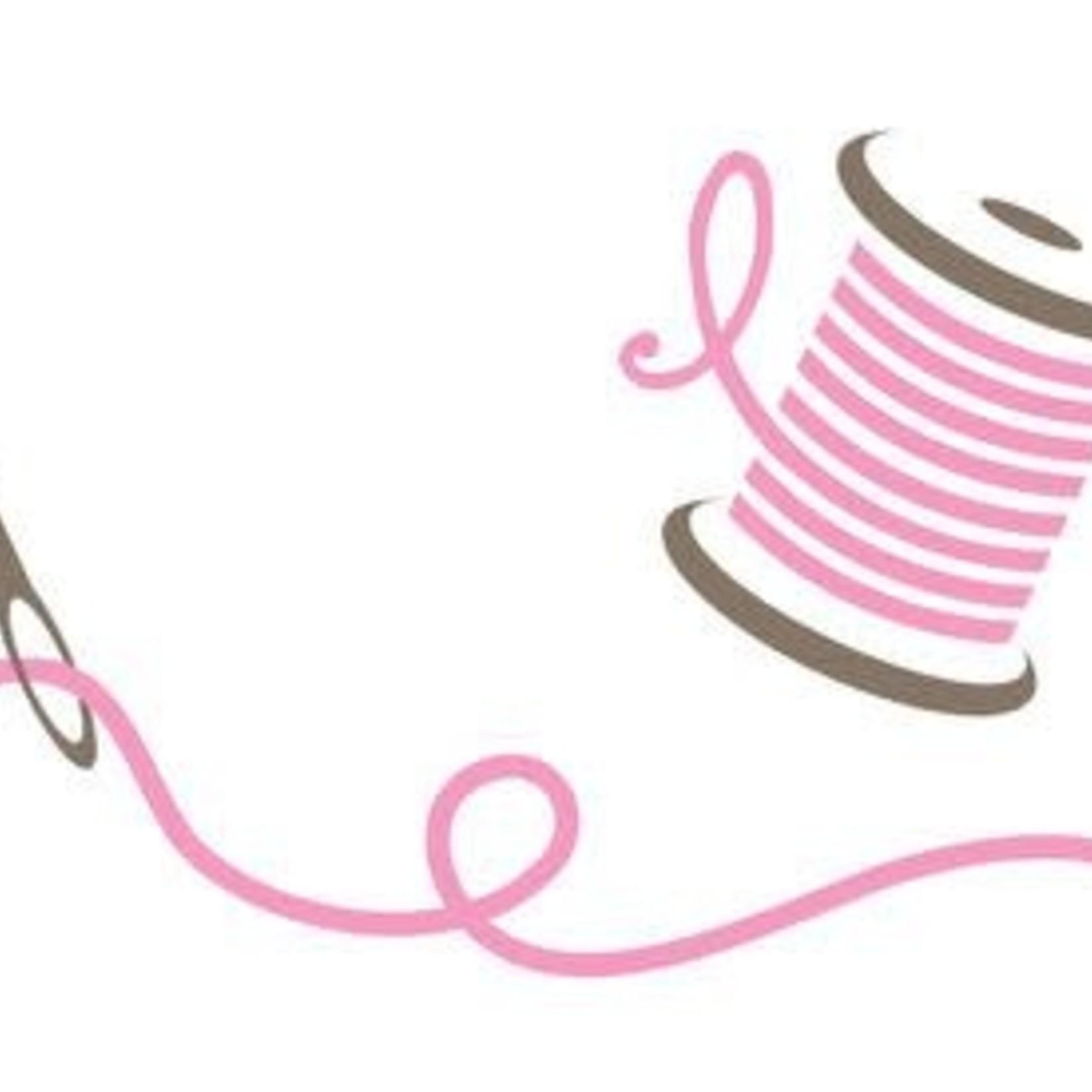 Pointe Shoe Sewing - Crossed Elastic