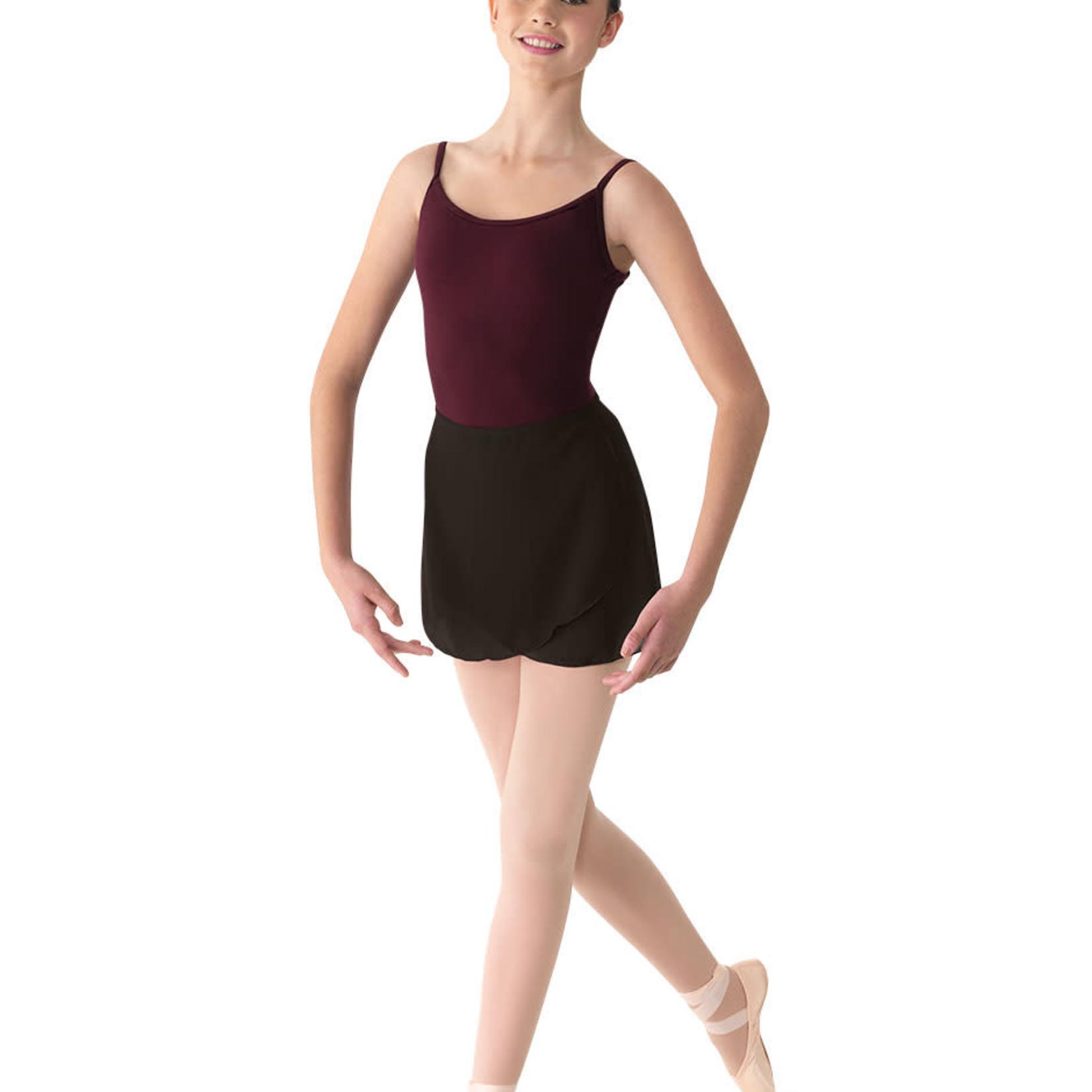 Mirella Mirella MS12A XL BLK Wrap Skirt