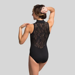 Ainslie Wear Ainslie Wear Zip Front Kara Lace Leotard