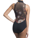 Ainslie Wear Ainsliewear Zip Front Autumn Bloom Leotard