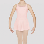 Mirella Mirella M1078C Flocked Skirted Leotard