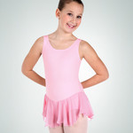 Body Wrappers Body Wrappers BWC190 Tank Skirted Leotard