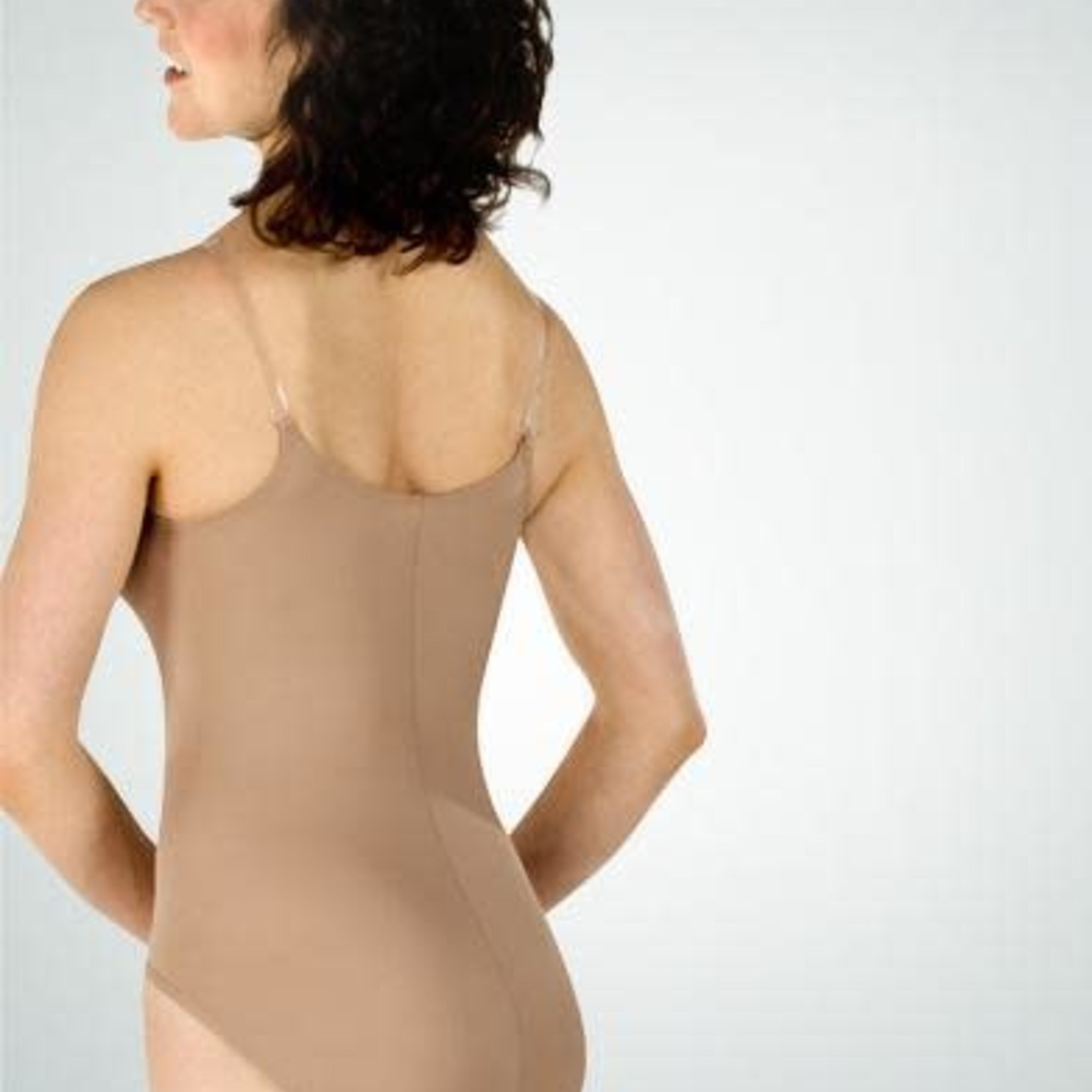 Body Wrappers Body Wrappers 260 Nude Adjustable Camisole Leotard
