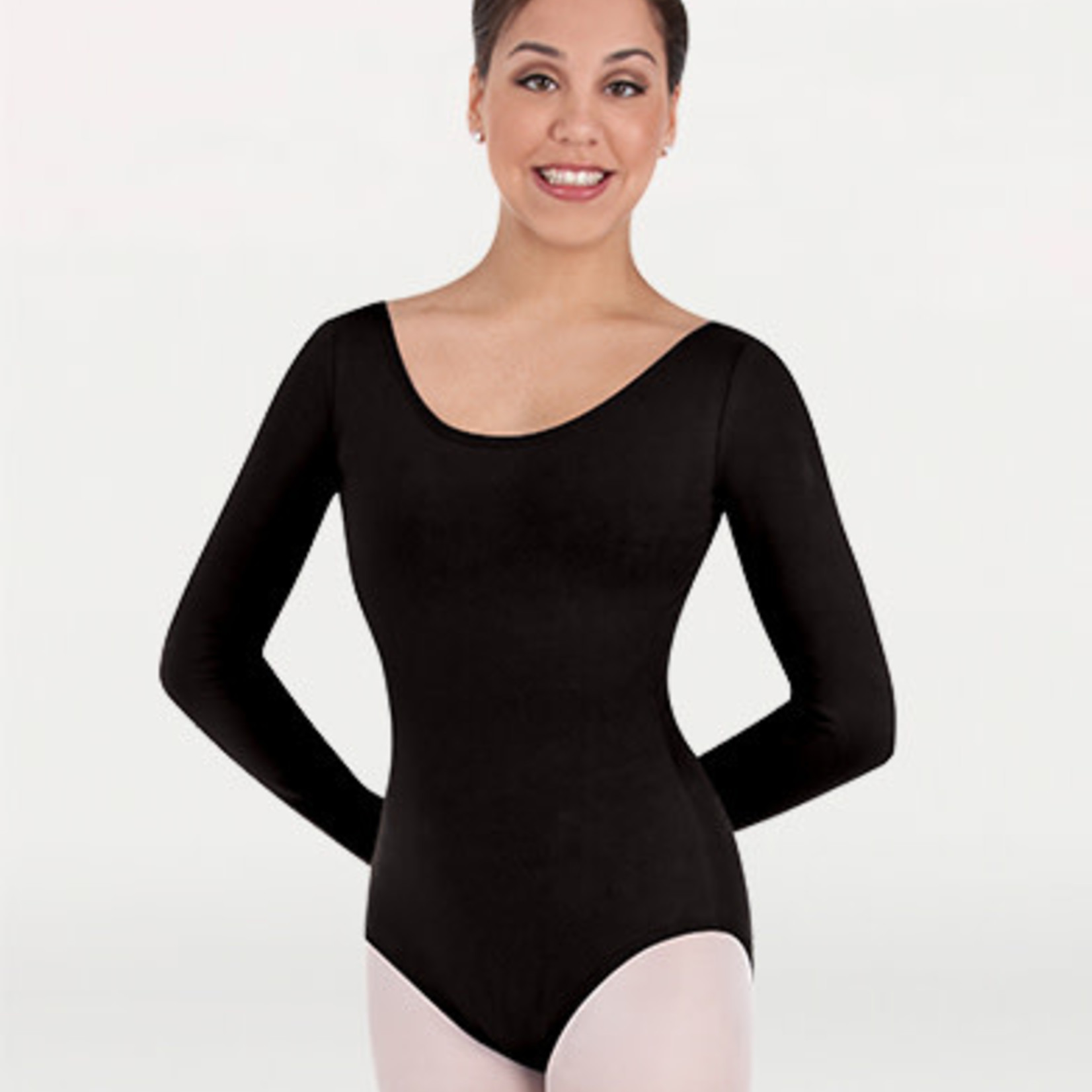 Body Wrappers Body Wrappers BWC326 Adult Long Sleeve Leotard
