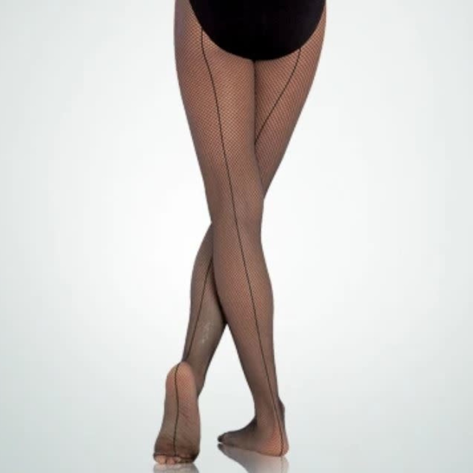 Body Wrappers Body Wrappers A62 Seamed Fishnet Tights