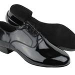 "Very Fine Very Fine C919101 1"" Black Patent Leather Men's Ballroom Shoe"