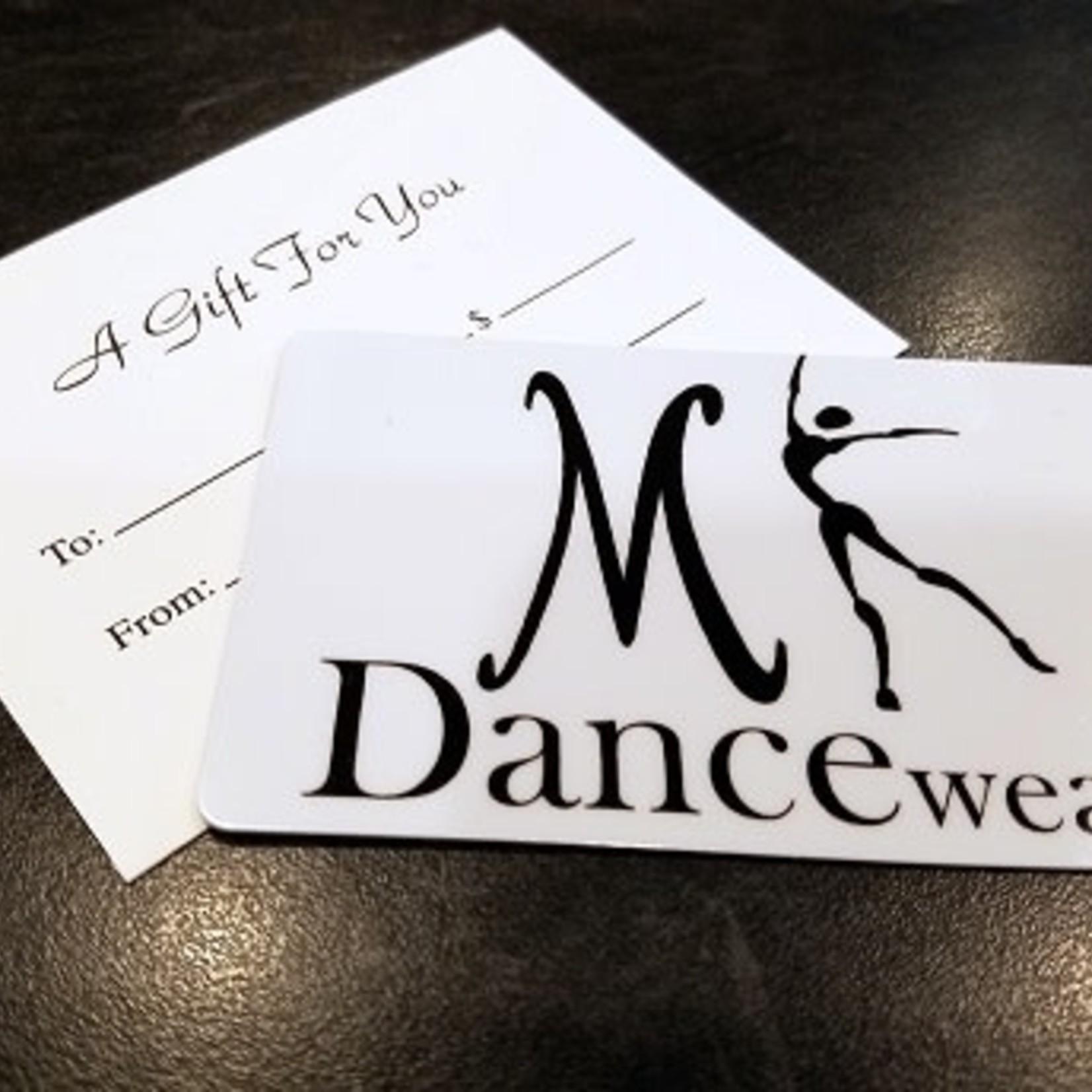MK Dancewear MK Dancewear Gift Card $10