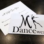 MK Dancewear MK Dancewear Gift Cards $50