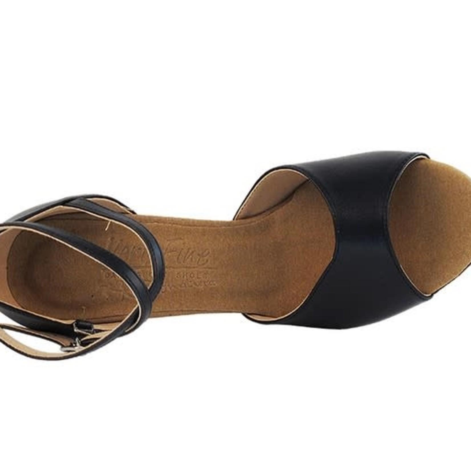 "Very Fine Very Fine S9220 2.5"" Leather Ballroom Shoe"