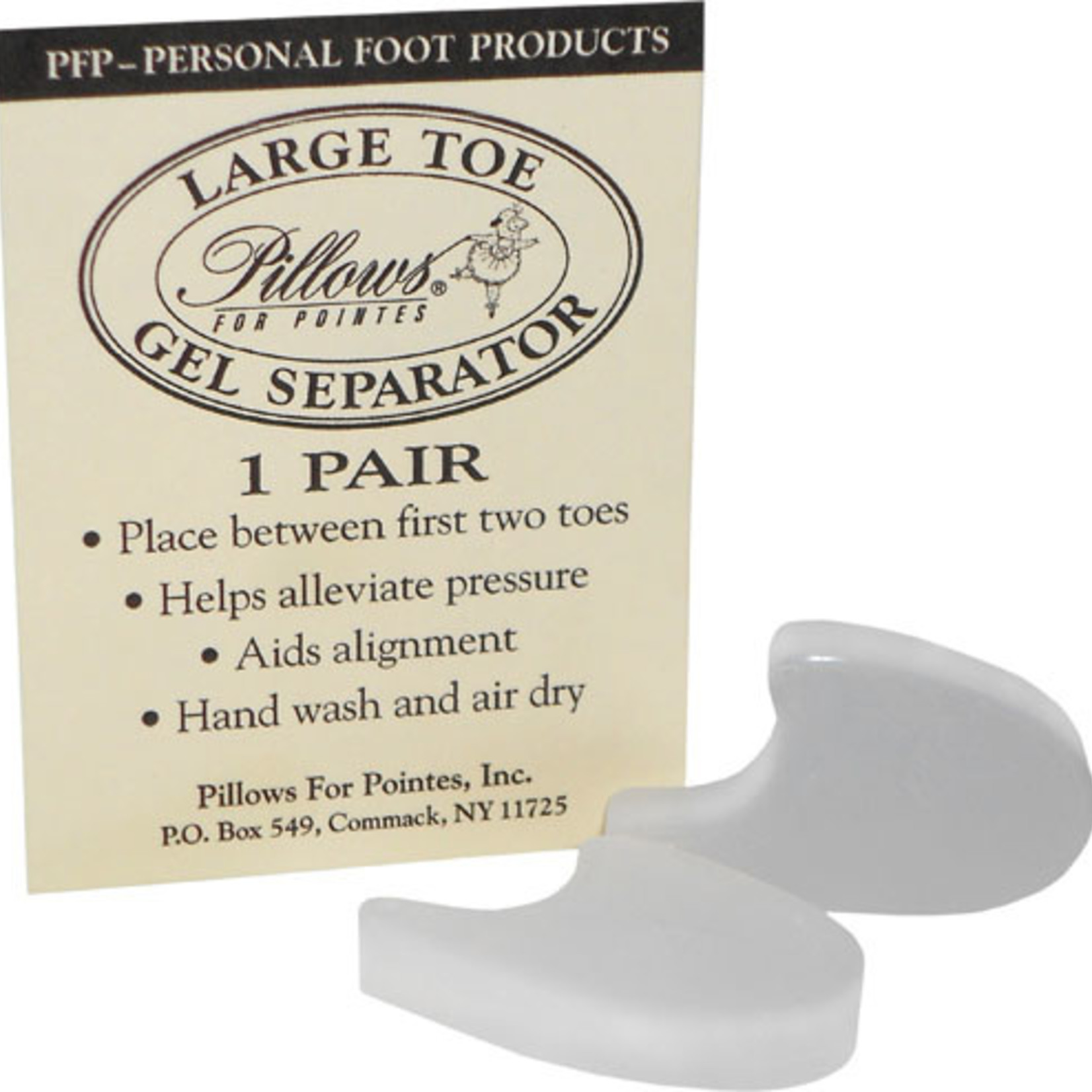 Pillows for Pointes Pillows for Pointes Large Gel Toe Separator