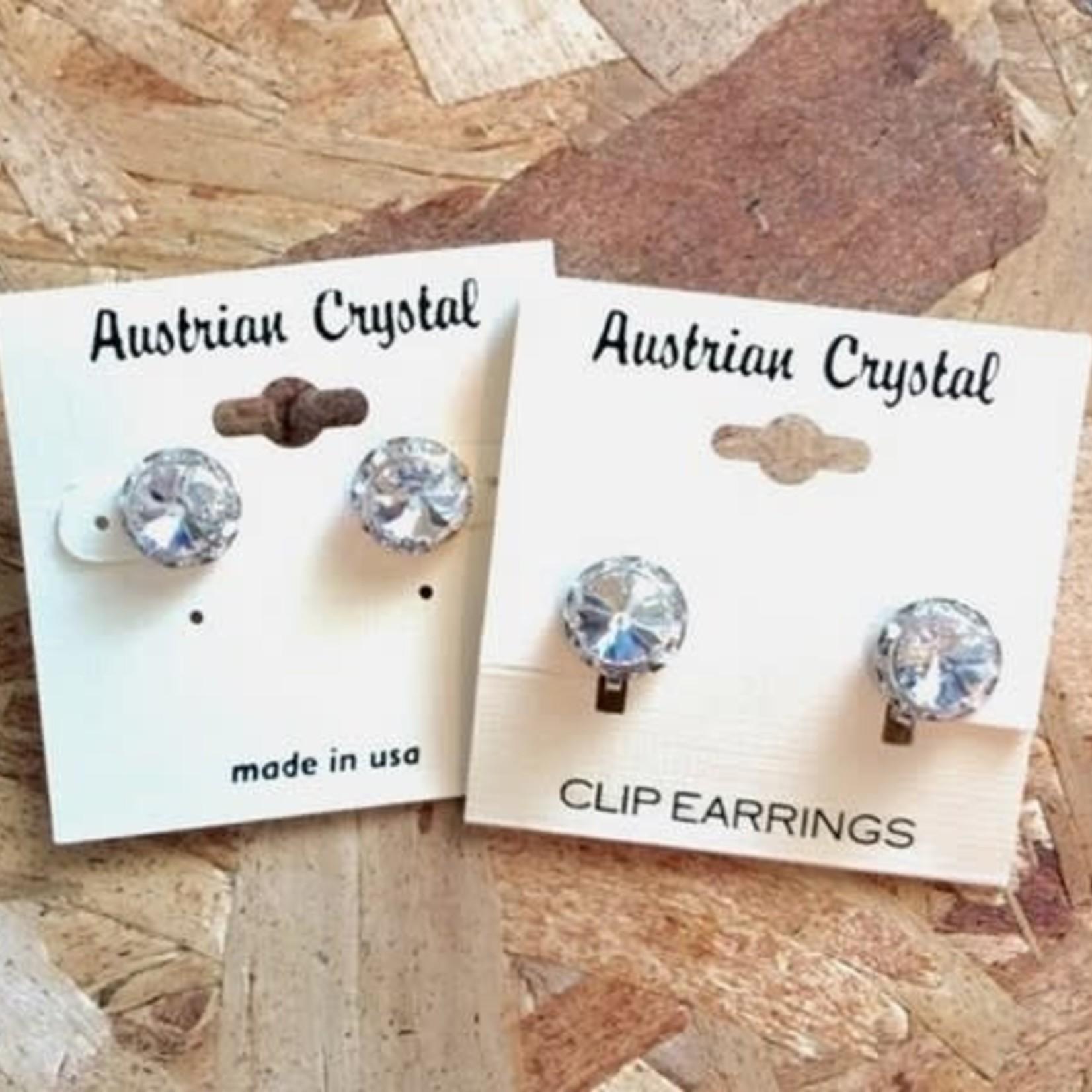 CJ Merchantile CJ Merchantile RA240 Australian Crystal 11mm Earrings