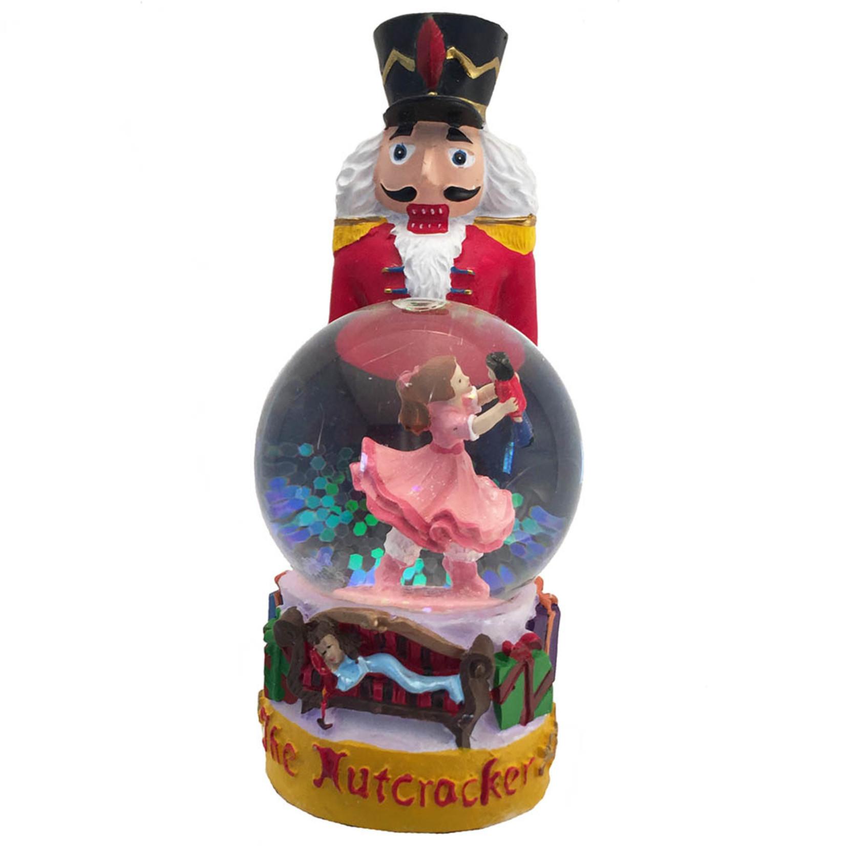 Nutcracker Ballet Gifts Nutcracker Figurine With Clara Mini Snow Globe
