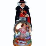 Nutcracker Ballet Gifts Drosselmeyer Figurine With Clara Mini Snow Globe