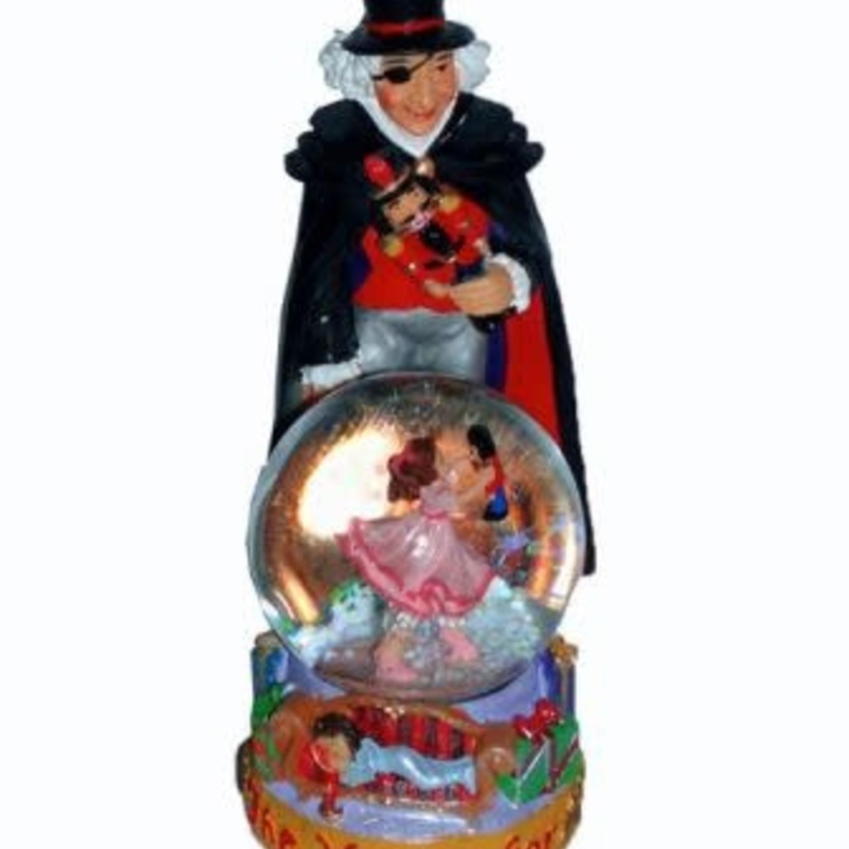 Nutcracker Ballet Gifts Drosselmeyer Figurine With Clara Mini Snow Globe