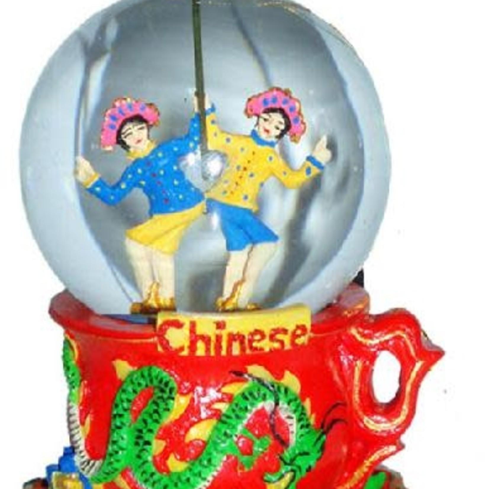 Nutcracker Ballet Gifts Mini Chinese Dancers Snow Globe
