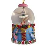 Nutcracker Ballet Gifts Mini Flower Ballerina Dancers Snow Globe Ornament