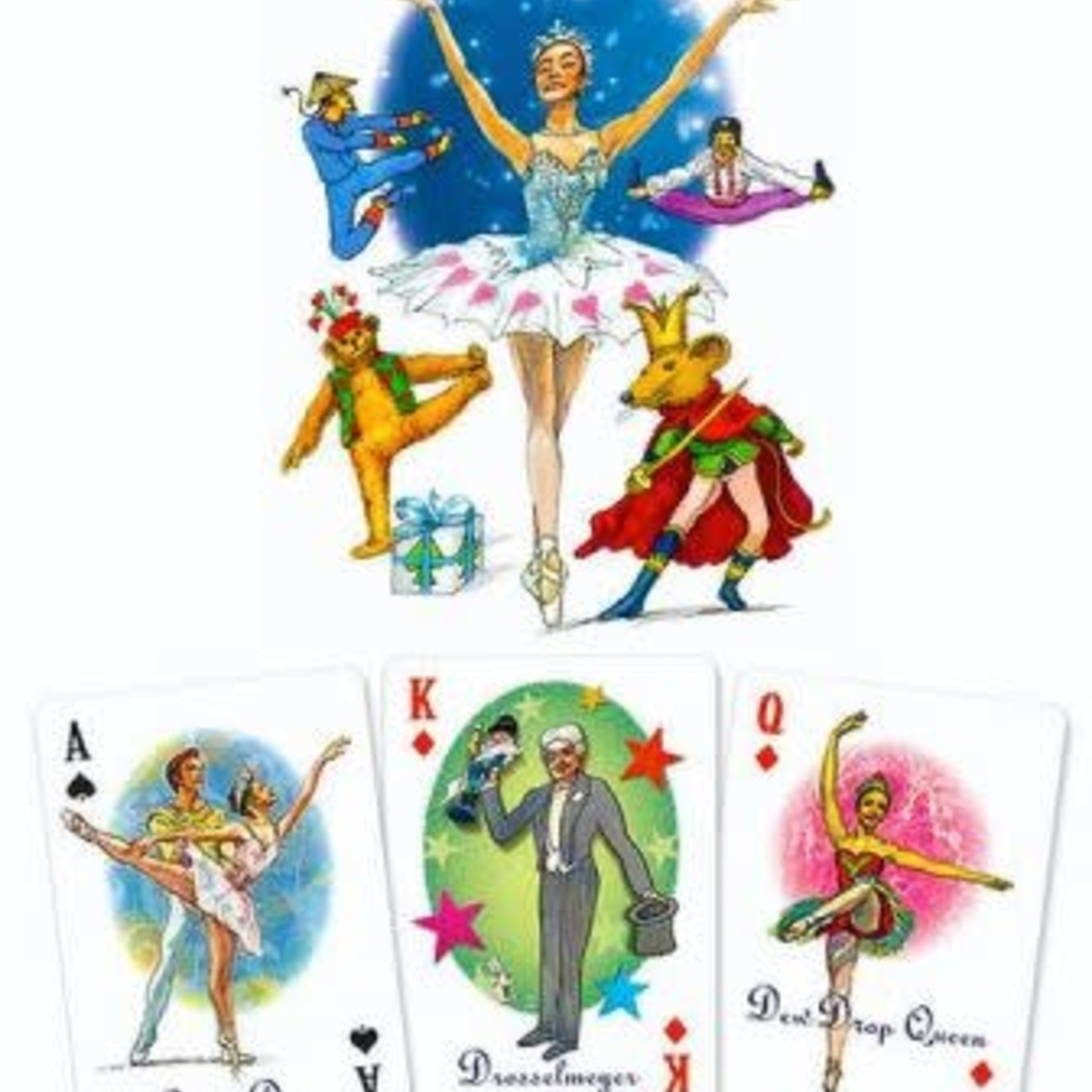 Nutcracker Ballet Gifts Nutcracker Playing Cards